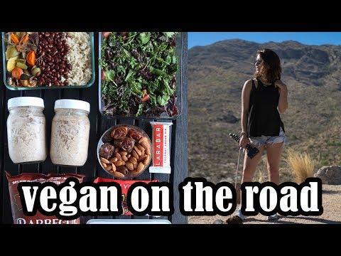 Road Trip Meal Prep | What I Eat Traveling | Healthy & Vegan