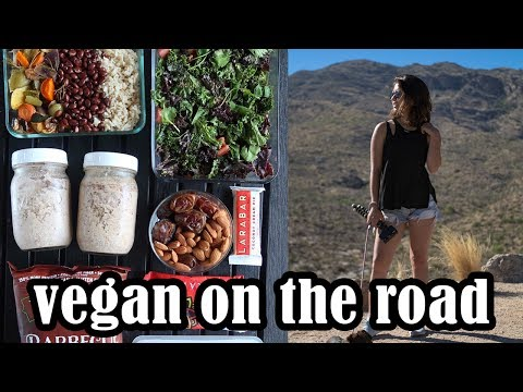 Road Trip Meal Prep | What I Eat Traveling | Healthy & Vegan