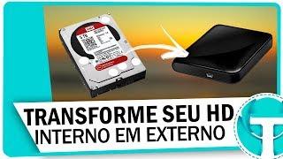 Como transformar seu HD interno em USB Externo