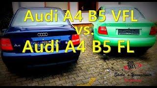 Audi A4 B5 Vorfacelift vs. Audi A4 B5 Facelift