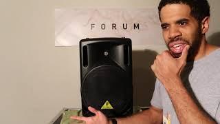 Behringer 212D The Best Speaker For Beginner Dj's!!!