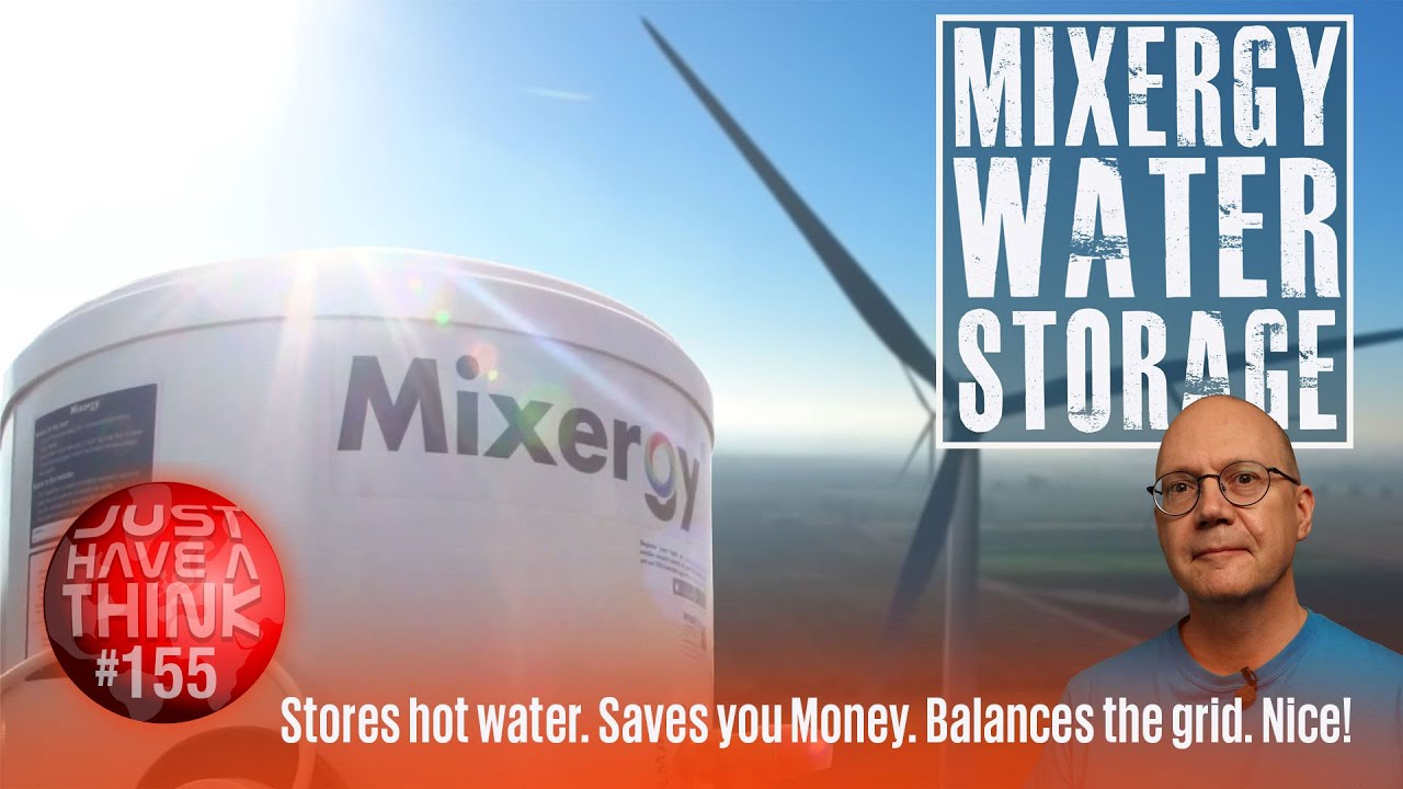 Mixergy Water Storage. Smart technology for grid stability.
