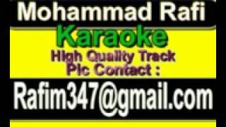 Tu Hi Woh Haseen Hai Jis ki Tasveer Karaoke Khwab {1980} Rafi