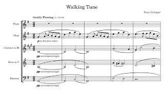 Percy Grainger - Walking Tune (1905)
