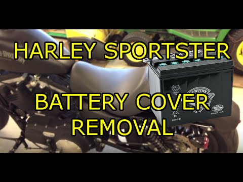 hqdefault hd iron 883 sportster battery cover removal youtube Harley-Davidson Iron 883 Green at n-0.co