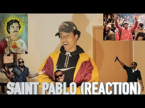 Kanye West - Saint Pablo feat. Sampha Reaction
