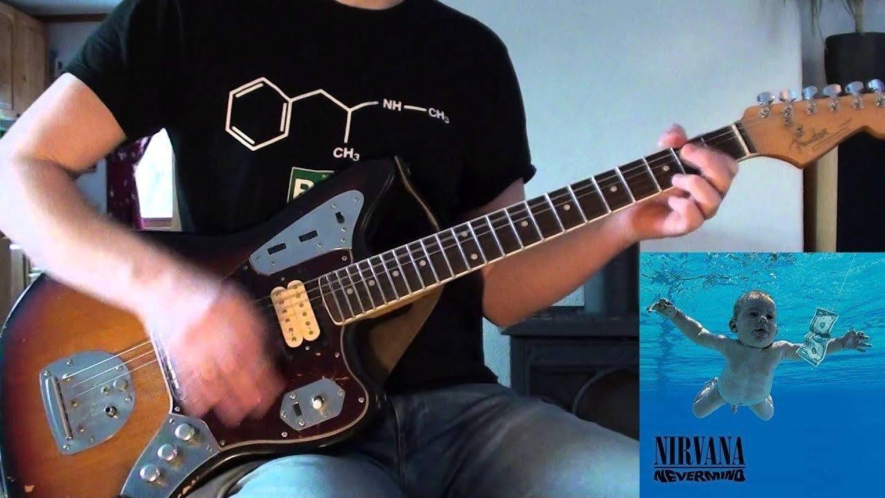 Nirvana Lounge Act Guitar Cover Youtube