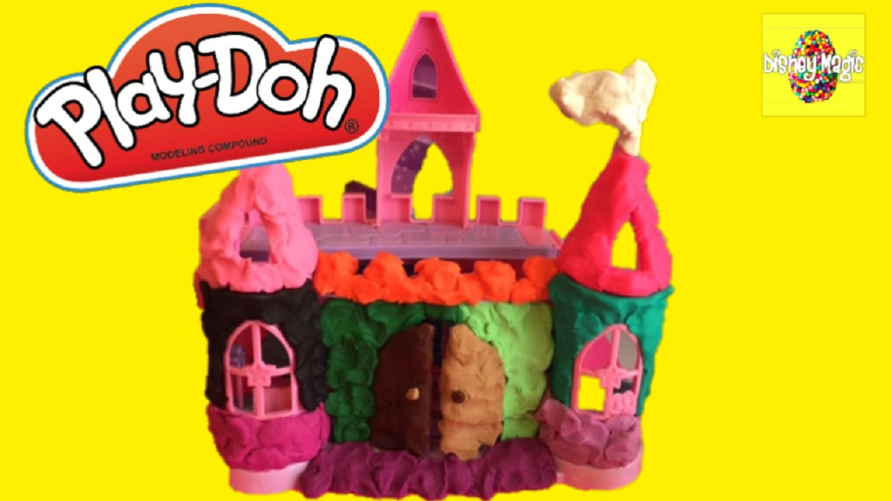 Toysrus Manualidades.Play Doh Princess House Surprise Disney Inspired Castle Toys From