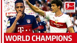 Benjamin Pavard & Corentin Tolisso: The Bundesliga's World Champions