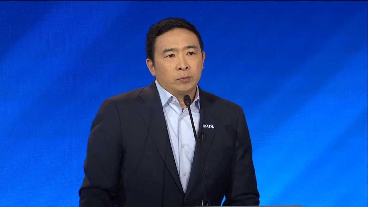 Andrew Yang drops out