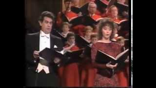Скачать Пласидо Доминго и Сара Брайтман 1985 год Нью Йорк Реквием Андрю Ллойд Веббер