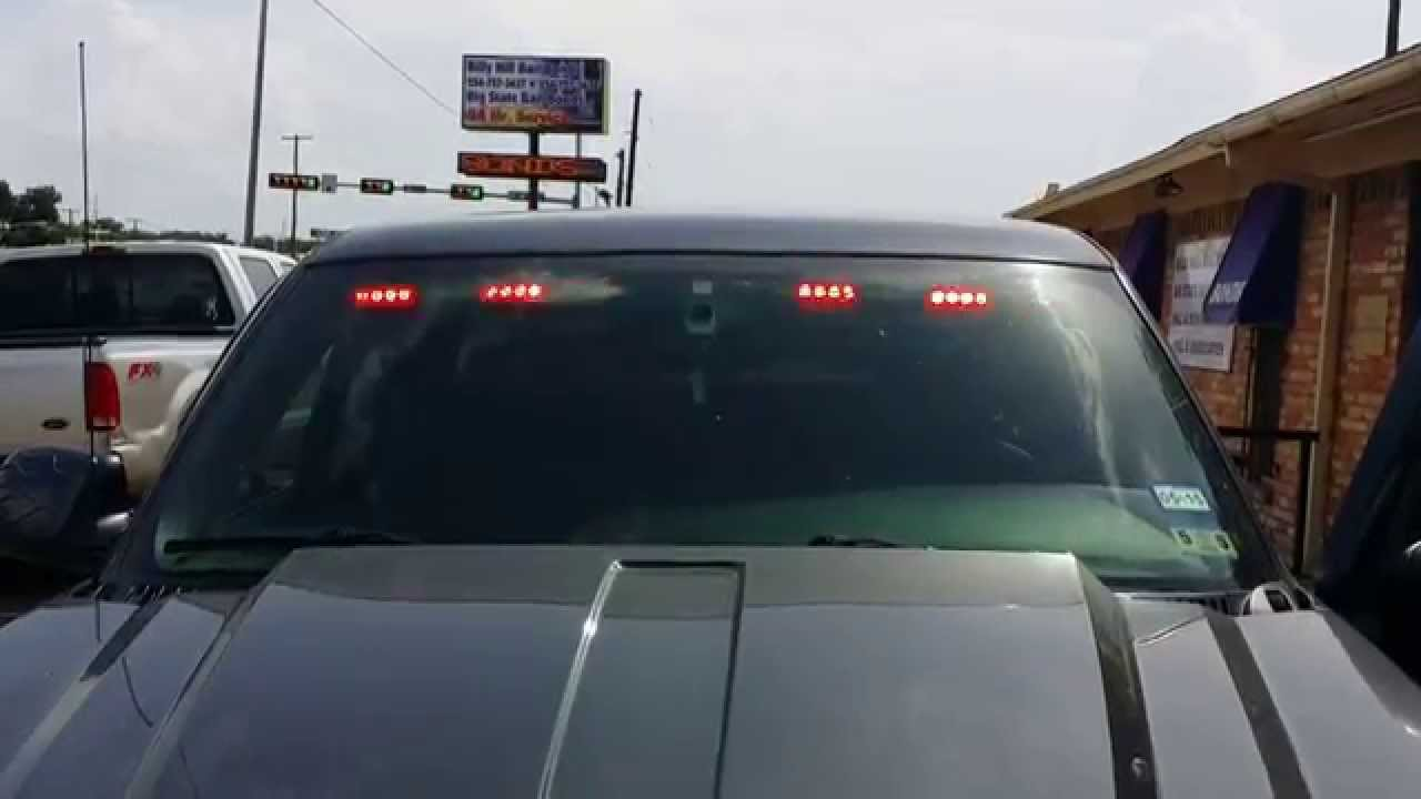 2004 chevy silverado with undercover led light bar youtube aloadofball Gallery