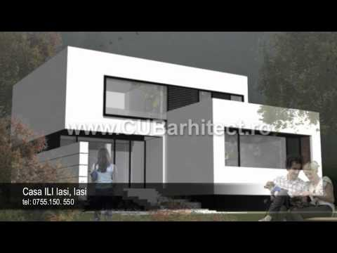 Proiecte case moderne model casa noua ili iasi youtube for Case moderne classiche