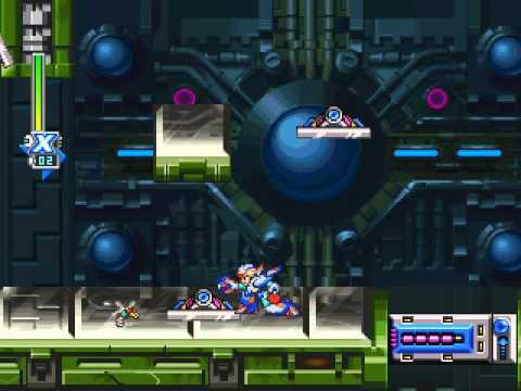 Megaman X6 - X - Shieldner Sheldon: Laser Institute