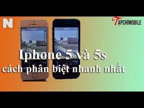 iPhone 5 và iPhone 5s có gì khác nhau ? Cách phân biệt như thế nào ?