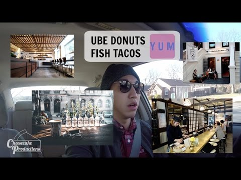 UBE DONUTS AND FISH TACOS - YES PLEASE | VLOG #10