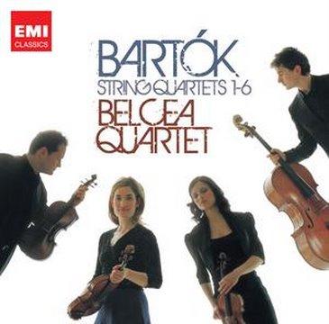 Belcea Quartet - Bartok String Quartet No.5 (excerpt)