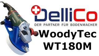 Video: Randschleifmaschine WoodyTec Ø180