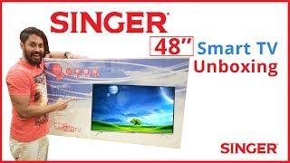 Singer smart tv unboxing