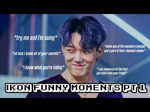 iKON FUNNY MOMENTS PT. 1