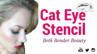 Cat Eye Stencil: Beth Bender Beauty First Impressions/Review(Hey Everyone! Click to see my review/tutorial on Beth Bender Beauty Cat Eye Stencil. See my updated review on the Beth Bender Beauty Cat Eye Stencil here: ..., 2015-09-01T19:32:32.000Z)