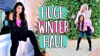 HUGE WINTER CLOTHING HAUL!! Vlogmas Day 15