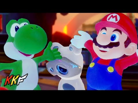 Lava Pit-6: Reunited - Mario + Rabbids Kingdom Battle