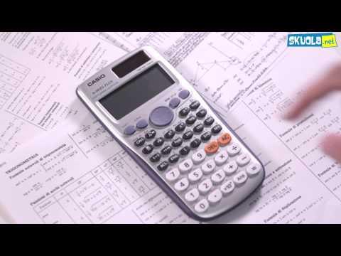 Guida all'uso della calcolatrice scientifica - Video