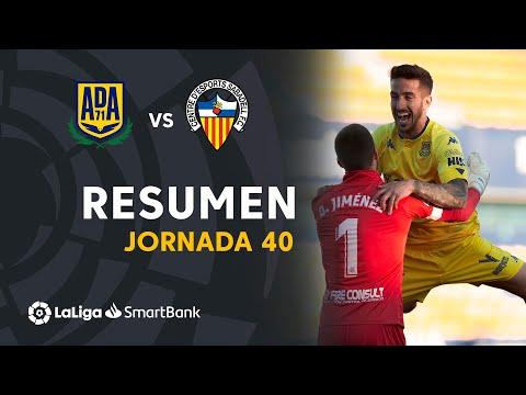 Alcorcón Sabadell CE Goals And Highlights