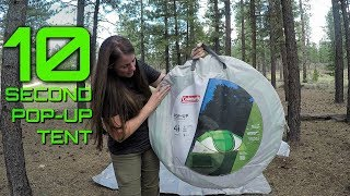 Coleman 4-Person Pop-Up Tent - Gear Review #4