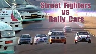 [ENG CC] Street fighters vs. Rally cars - Tuned Battle Tsukuba HV49