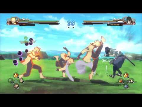 Naruto vs Sasuke all forms  in ninja storm 4
