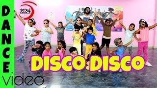 Disco Disco: A Gentleman   Kids Dance   Sundar, Susheel, Risky   Sidharth,Jacqueline  