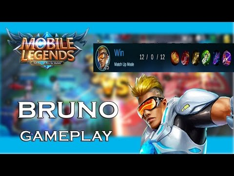 Mobile Legends: BRUNO INSANE GAMEPLAY + 5K SUBSCRIBERS