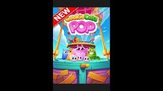 Игры шарики играть бесплатно для детей на андроид Cookie Cats Pop видео  3 серия