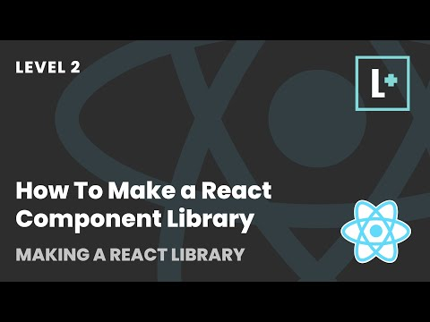 How To Make a React Component Library - Making A React Library