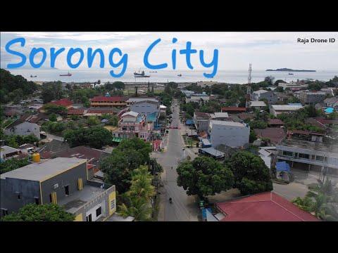 Kota Sorong Kampung Baru 2018, VIdeo Udara Drone Kota Terbesar di Papua Barat Pintu Masuk Raja Ampat