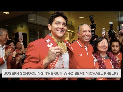 Joseph Schooling beat Michael Phelps in the 100m butterfly, sets Olympic record | Rio Olympics 2016