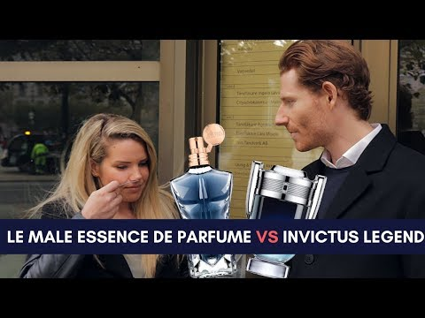 Le Male Essence De Parfum VS. Invictus Legend - Girls Reactions