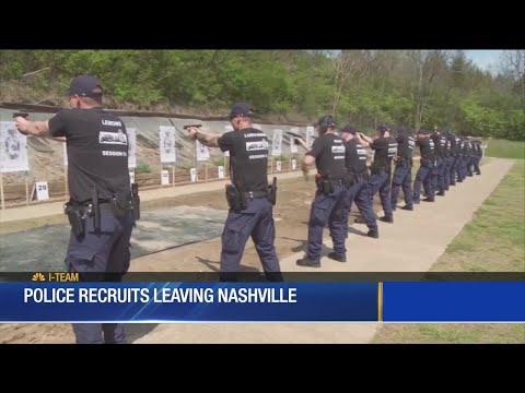 Police Recruits Leaving Nashville
