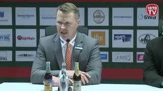 1878 TV | Pressekonferenz 18.11.2018 Augsburg-Berlin 3:0