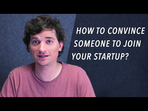 How Do You Convince Someone To Join Your Startup? - Dalton Caldwell