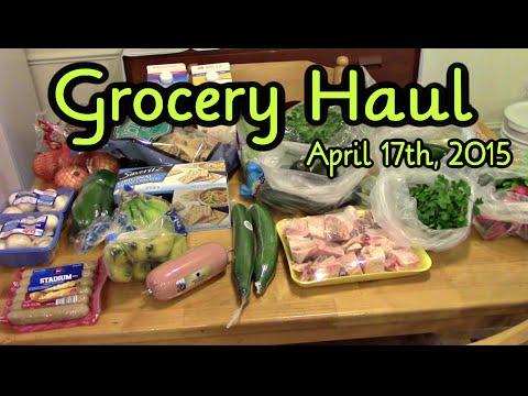 Aldi Grocery Haul ~ April 17th, 2015