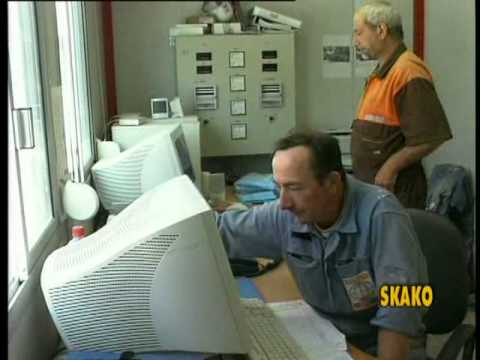 SKAKO Mobile batching plants 2.66 m3 Master Mix 4000 on jobsite.