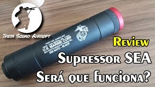 Review: Supressor SEA. Será que funciona?