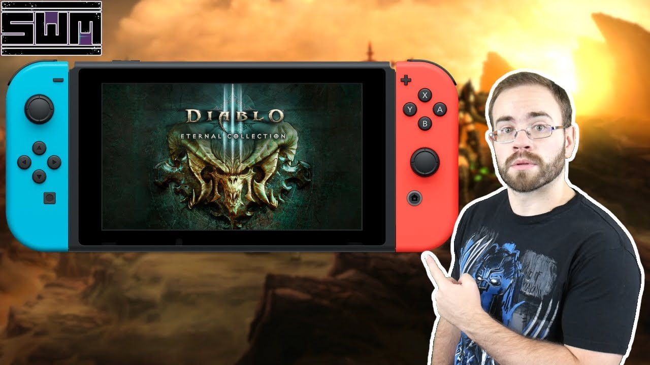 Diablo III Eternal Collection Nintendo Switch - How Does It Play?