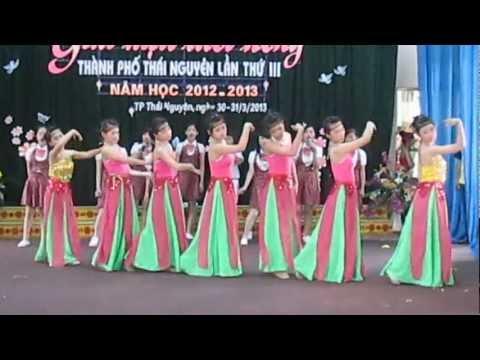 Thái nguyên - cho em khúc hát [Trường THCS Tân Thành]