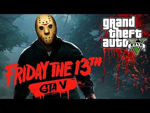 """GTA 5 """"FRIDAY THE 13TH"""" MACHINIMA! (GTA V SHORTMOVIE)"""
