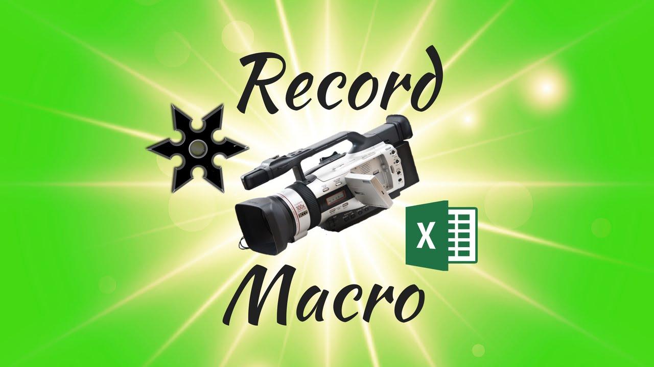 Understanding VBA Code How to Record a Simple Excel Macro YouTube – Rename Worksheet Vba