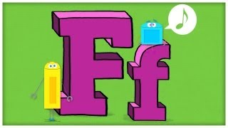 """ABC Song: The Letter F, """"F is Fun"""" by StoryBots 
